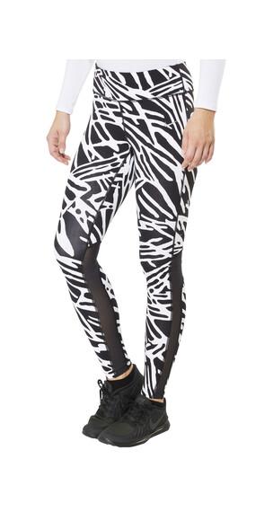 Nike Palm Epix Lux Naiset juoksuhousut , valkoinen/musta